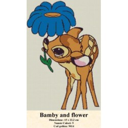 Set goblen  Bamby and flower