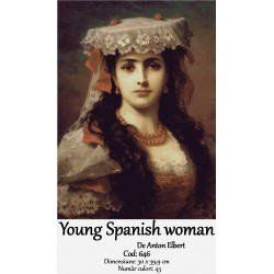 Set goblen  Young Spanish woman