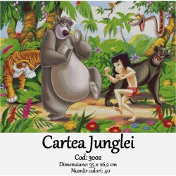 Kit goblen Cartea Junglei