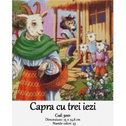 Kit goblen Capra cu trei iezi