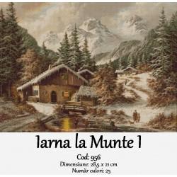 Model goblen Iarna la Munte I