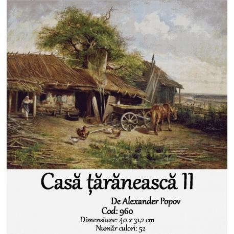 Set goblen  Casa taraneasca II