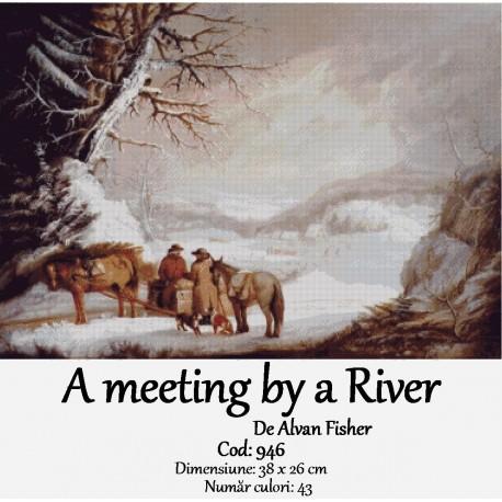 Set goblen  A meeting by a River