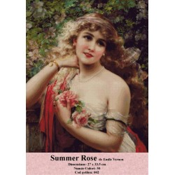 Model goblen Summer Rose De Emile Vernon