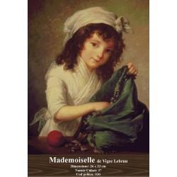 Set goblen  Madmoiselle de Vigee Lebrun