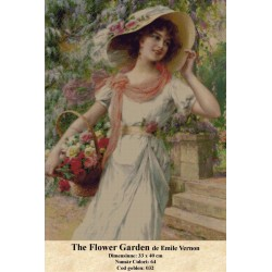 Model goblen The Flower Garden de Emile Vernon