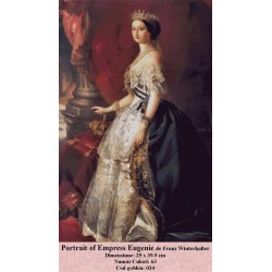 Kit goblen Portrait of Empress Eugenie de Franz Winterhalter