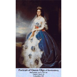 Model goblen Portrait of Queen Olga of Wurttemberg