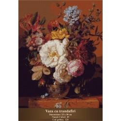 Kit goblen Vaza cu trandafiri