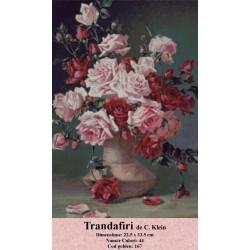 Kit goblen Trandafiri de C. Klein
