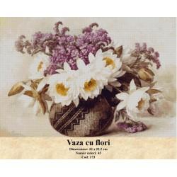 Kit goblen Vaza cu flori