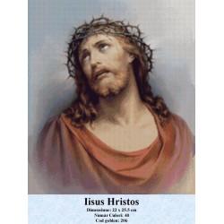 Model goblen Iisus Hristos