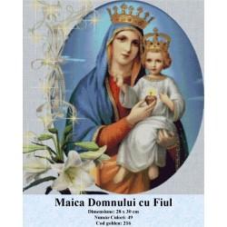Set goblen  Maica Domnului cu Fiul