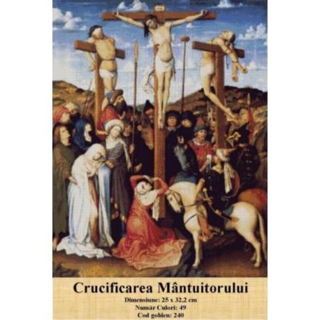 Set goblen  Crucificarea Mantuitorului