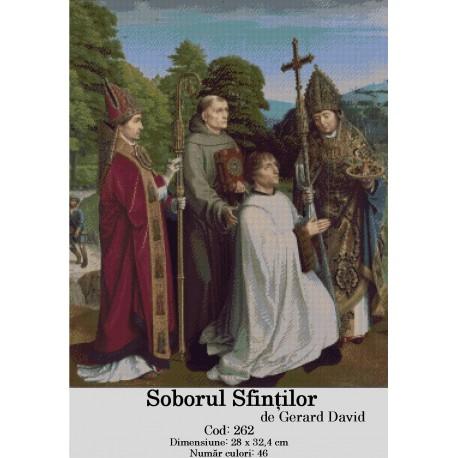 Set goblen  Soborul Sfintilor de David Gerard