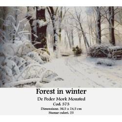 Set goblen  Forest in winter