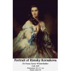 Kit goblen Portrait of Rimsky Korsakova