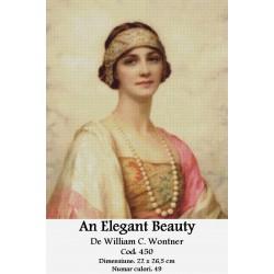Model goblen An elegant beauty