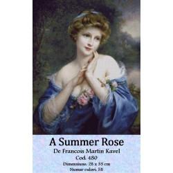 Set goblen  A summer rose