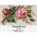 Set goblen  Trandafir roz