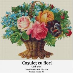 Kit goblen Cosulet cu flori