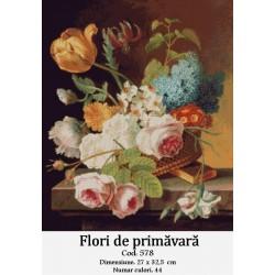 Model goblen Flori de primavara