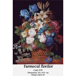 Set goblen  Farmecul florilor