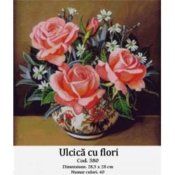 Kit goblen Ulcica cu flori