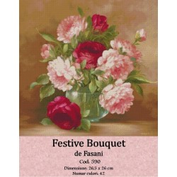 Model goblen Festive bouquet
