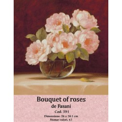 Set goblen  Bouquet of roses