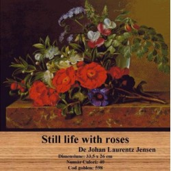 Kit goblen Still life with roses