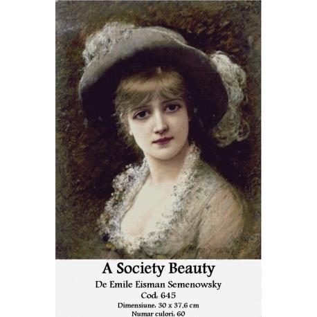 Kit goblen A Society Beauty de Emile Eisman Semenowsky