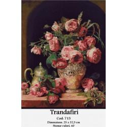 Model goblen Trandafiri