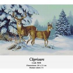Kit goblen Caprioare