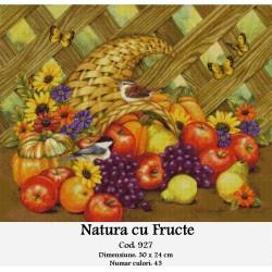 Set goblen  Natura cu fructe
