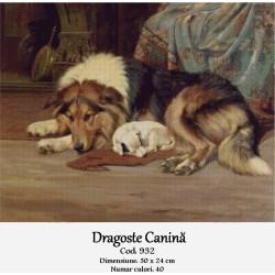 Kit goblen Dragoste canina