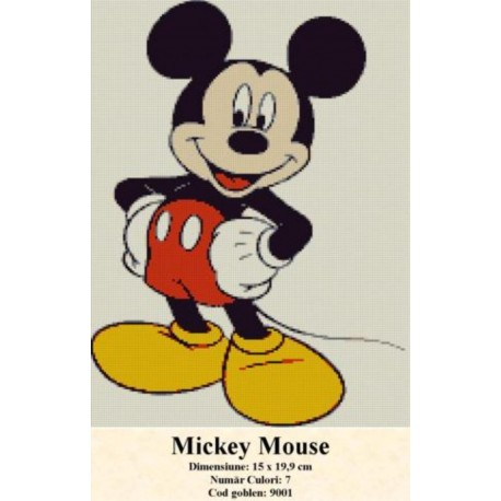 Model goblen Mickey Mouse